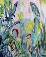 Opulent Floral Strokes III Fine Art Print