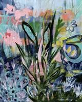Opulent Floral Strokes IV Fine Art Print