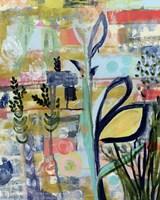 Opulent Floral Strokes V Fine Art Print