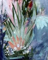 Opulent Floral Strokes VI Fine Art Print