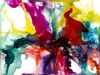 Jeweltone Prism I Framed Print
