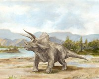 Dinosaur Illustration II Fine Art Print