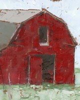 Big Red Barn I Fine Art Print
