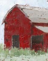 Big Red Barn II Fine Art Print