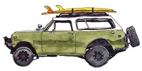 Surf Car II Fine Art Print