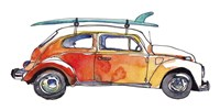 Surf Car V Fine Art Print