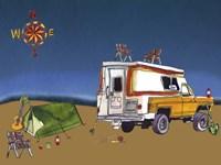 Camp Out II Fine Art Print