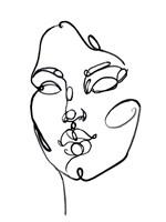 Linear Thoughts I Fine Art Print