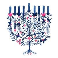Boho Hanukkah I Fine Art Print