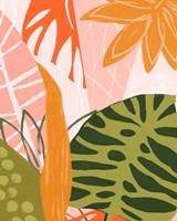 Jungle Collage II Fine Art Print