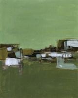 Abstract Village I Fine Art Print