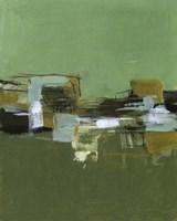 Abstract Village II Fine Art Print