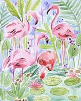 Wild Swimming II Fine Art Print
