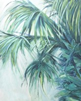 Blue Palmetto Fine Art Print