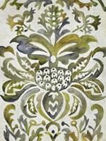 Verdant Damask IV Fine Art Print
