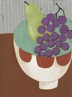 Modern Fruit II Framed Print
