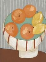 Modern Fruit IV Framed Print