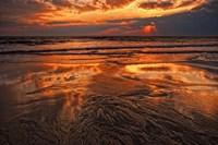 Sunset, Delaware Bay, Cape May NJ Fine Art Print