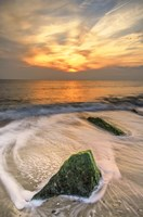 Scenic Cape May Beach 4, Cape May NJ Fine Art Print