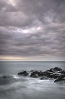 Stormy Beach Landscape, Cape May National Seashore, NJ Fine Art Print