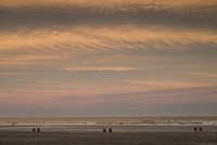 Wildwood Beach Sunset, NJ Fine Art Print