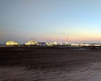 Boardwalk at Dusk, Wildwood NJ Fine Art Print