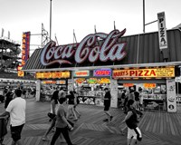 Coca Cola Sign - Boardwalk, Wildwood NJ Fine Art Print