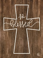 Blessed Cross Fine Art Print
