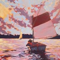 Small Sailboat Fine Art Print