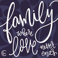 Love Never Ends Fine Art Print