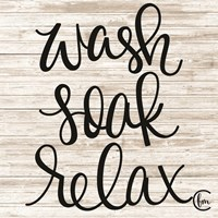 Wash Soak Relax Fine Art Print