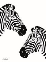 Pretty Zebras Fine Art Print