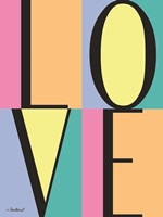 Love Block Fine Art Print