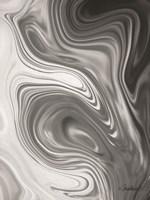 Gray Marble Fine Art Print