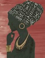 Graceful Majesty II Chili Fine Art Print