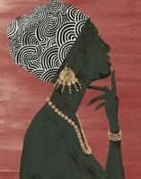 Graceful Majesty I Chili Framed Print