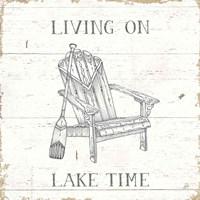 Lake Sketches IV Fine Art Print