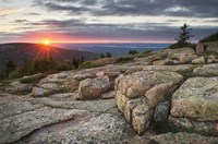Acadia National Park Sunset Fine Art Print