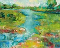 Spring Marsh Fine Art Print