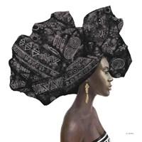 Pure Style II Black Fine Art Print
