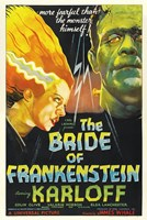 Bride of Frankenstein Wall Poster