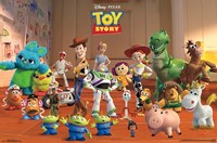 Toy Story Crew Wall Poster