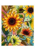 Sunflower Power I Fine Art Print