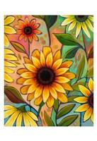 Sunflower Power II Fine Art Print