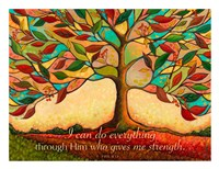 Tree Splendor II (I can do everything through Him...) Fine Art Print