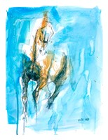 Equine Nude 51t Fine Art Print