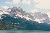 Saint Mary Lake Fine Art Print