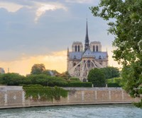 Notre Dame - View from the Seine Fine Art Print