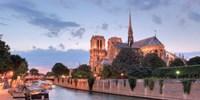 River View - Notre Dame Fine Art Print
