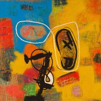 Conversations in the Abstract #32 Fine Art Print